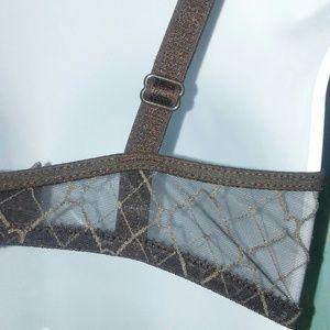Chantelle Intimates & Sleepwear - CHANTELLE Brown Padded Bra Size 34D
